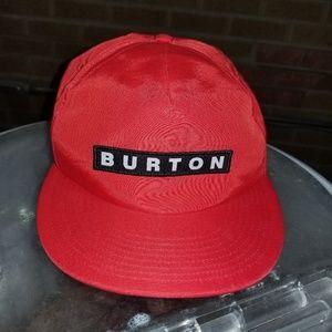 Burton snapback hat